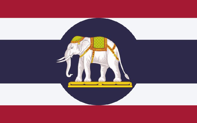 Ambassador flag of Thailand