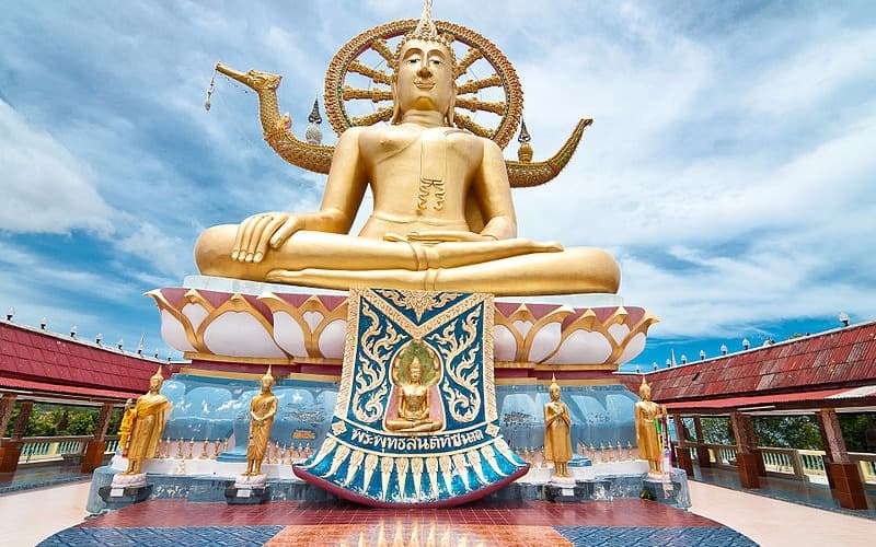 "Wat Phra Yai:"" Big Buddha of Samui"""