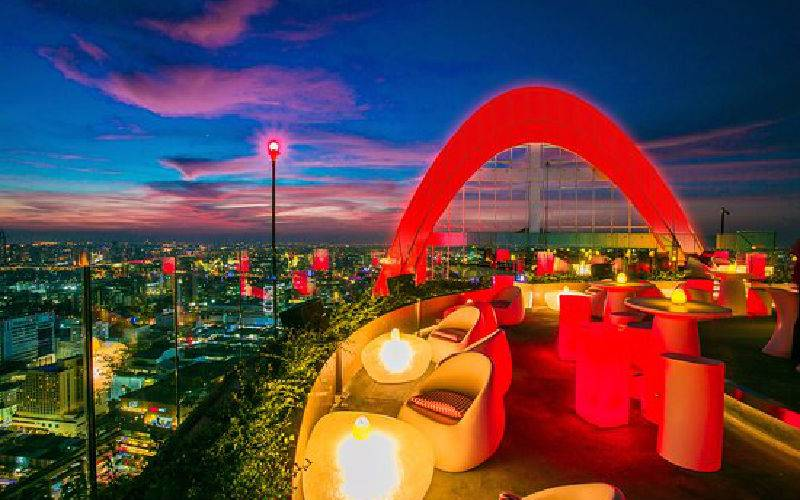 Raise a glass to the best rooftop bars in Bangkok