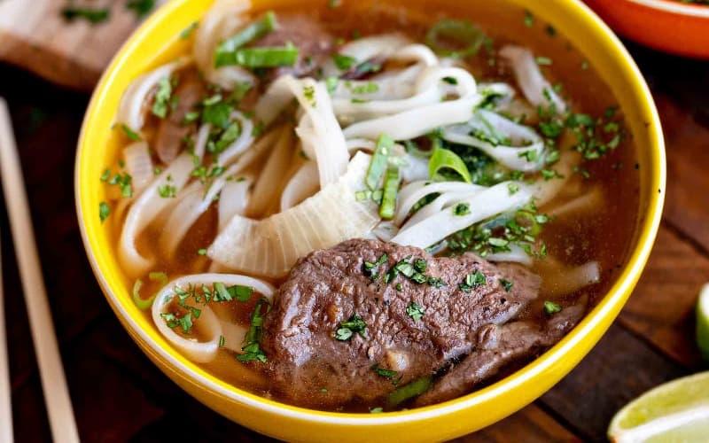Vietnamese food: Pho