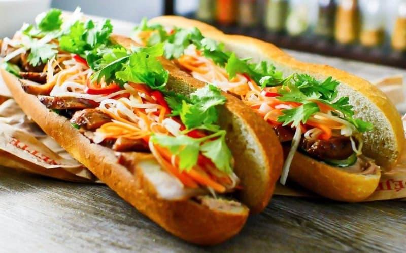Vietnamese food: Banh Mi