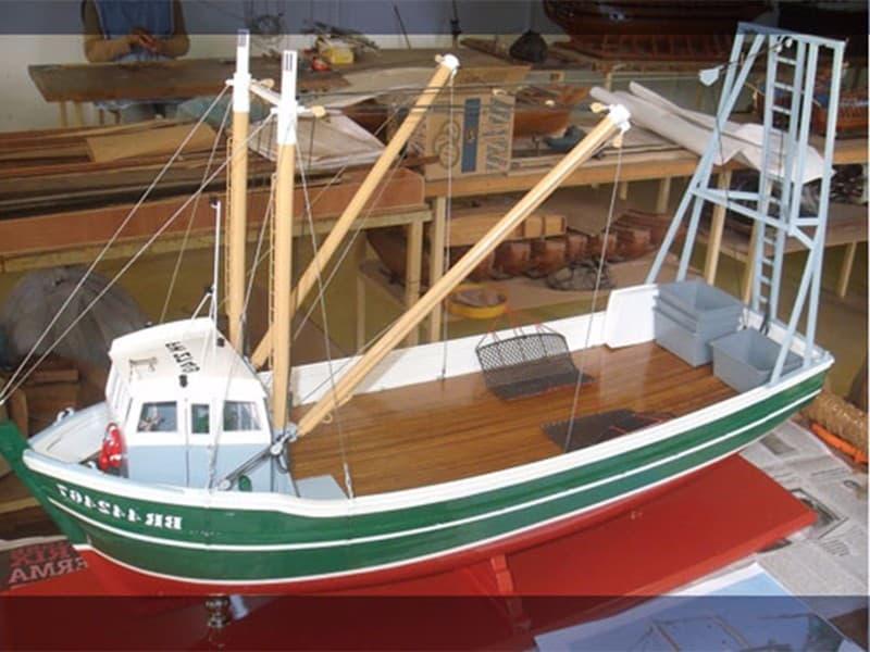 Ship model factory