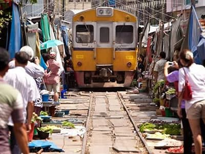 Amphawa Floating Market One Day Tour