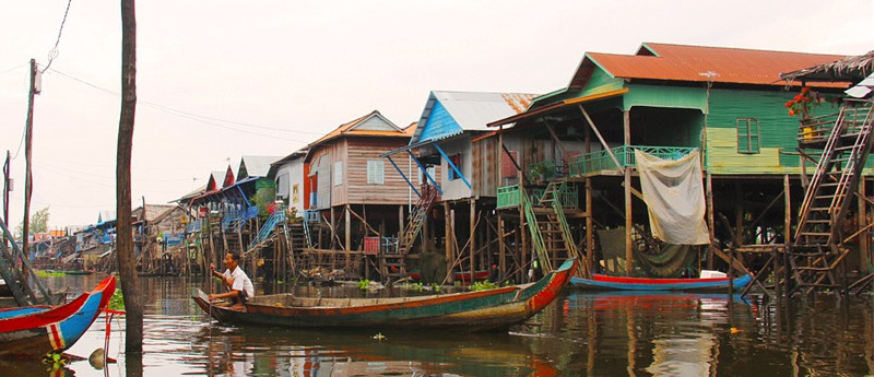 Tonle Sap Floating Village, Cambodia