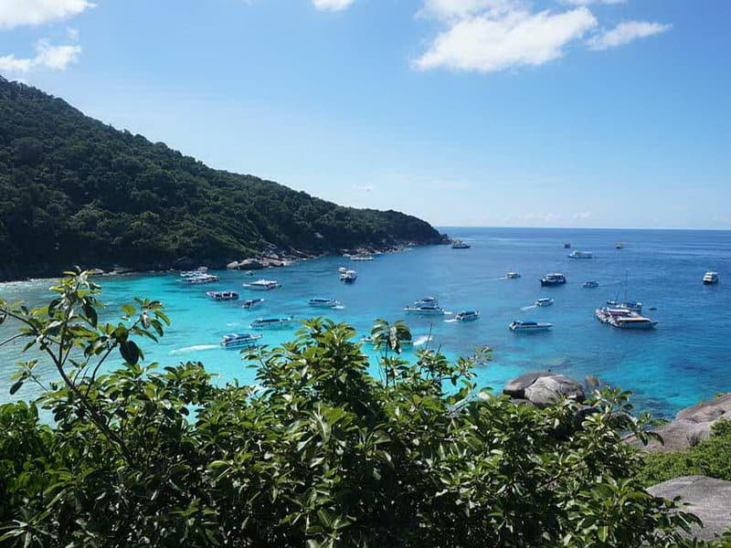 Similan One Day Tour by Speed Boat from Krabi with Lunch