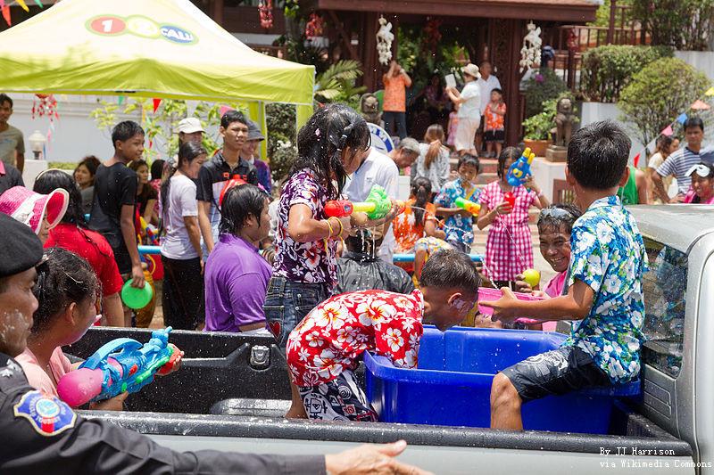 Songkran Festival 2019/2020 in Bangkok