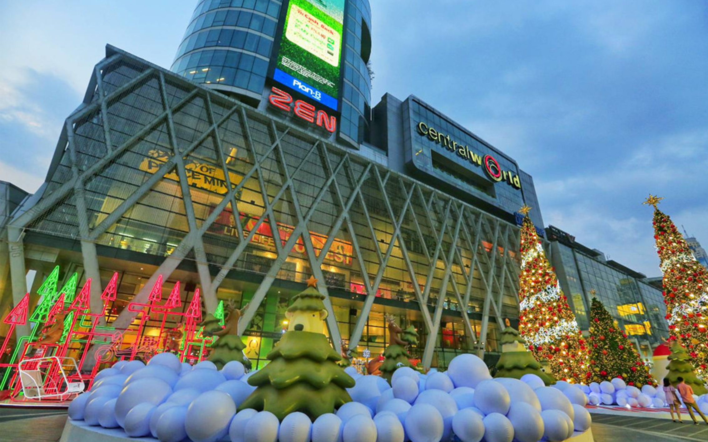 Easy Shopping Guide in CentralWorld, Bangkok