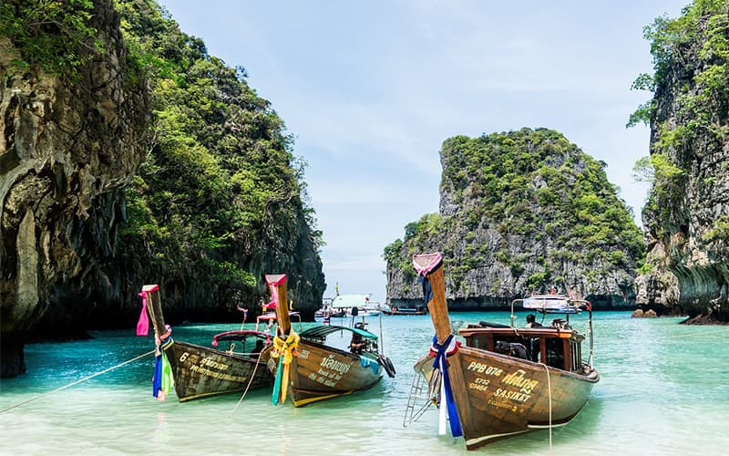 Traveling to Koh Phi Phi for the First Time