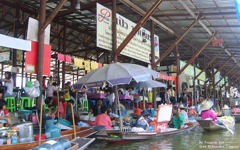 Damnoen Floating Market