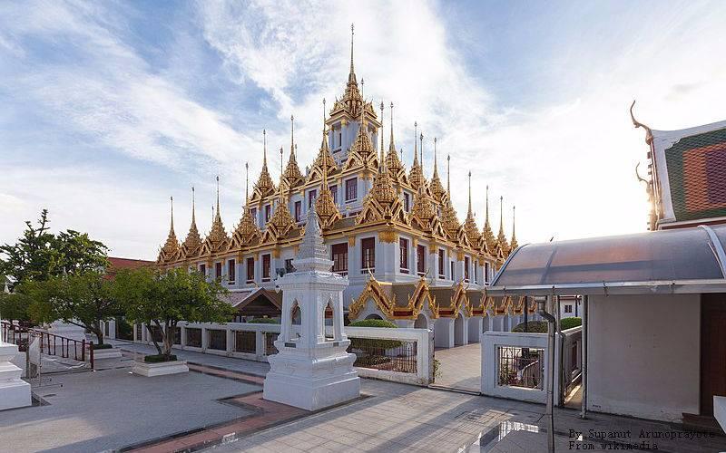 Wat Ratchanatdaram, Loha Prasat Bangkok