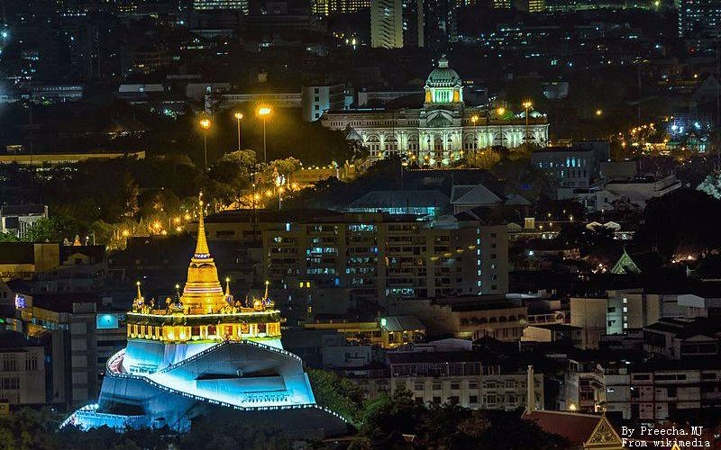 Wat Saket in Bangkok - The Temple of the Golden Mount