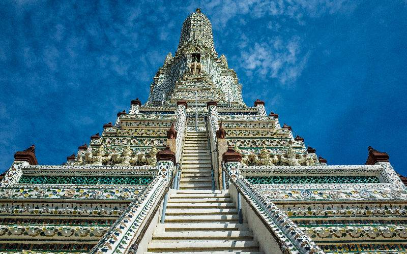 Architecture at Wat Arun