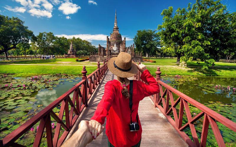 Traveling to Sukhothai for the First Time