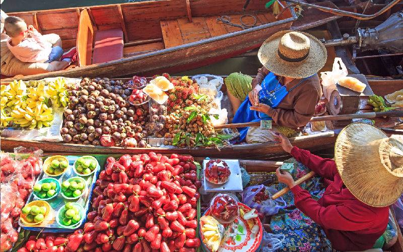 Travelling To Amphawa Floating Market For The First Time