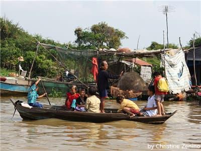 Siem Reap Floating Villages. pic