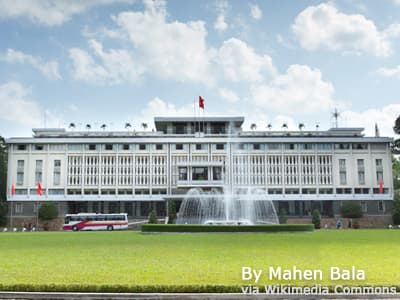 Reunification Palace(Independence Palace)