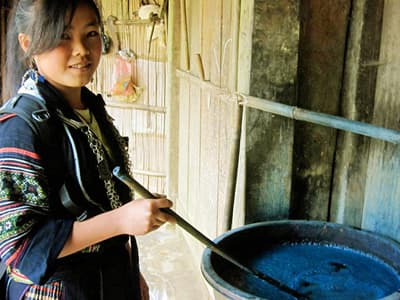 Black Hmong Ethinic Village