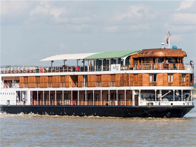 Myanmar RV Paukan Ayeyarwady River cruise boutique hotel
