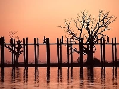 the U Bein Bridge