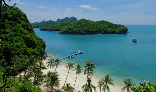Angthong Marine Park One Day Tour by Speed Boat with Lunch