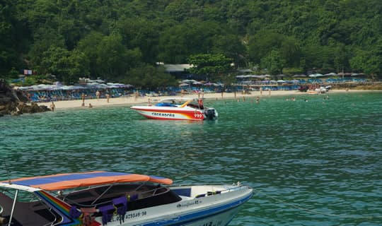 Coral Island One Day Tour by Speedboat from Pattaya with Lunch