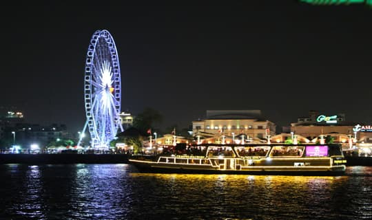 Grand Pearl Dinner Cruise on Chao Phaya River