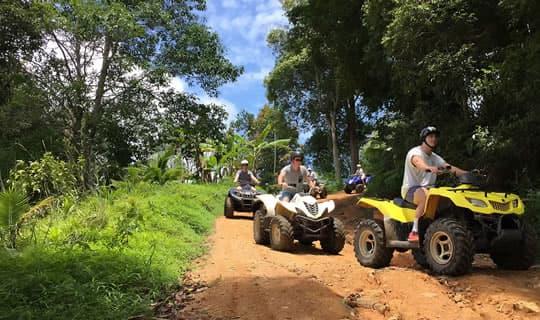 Half Day Samui ATV Mountain Adventure Tour