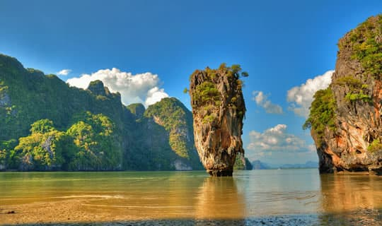 Phang-Nga One Day Tour by Long-Tail Boat with Lunch