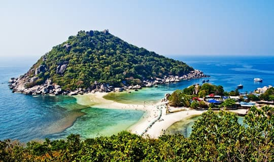 Koh Tao & Nang Yuan One Day Tour by Speed Boat with Lunch
