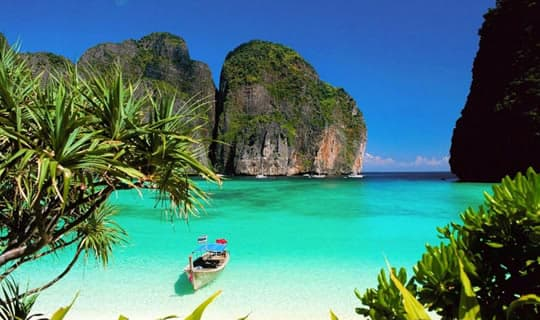 Phi Phi-Maya-Bamboo Island One Day Tour by Speed Boat with Lunch