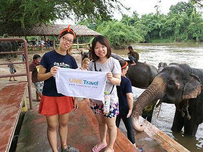 Kanchanaburi Elephant World