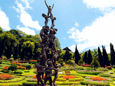 Doi Tung Royal Palace and Garden (Mae Fah Luang Garden)