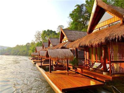 Bamboo Floating Villa