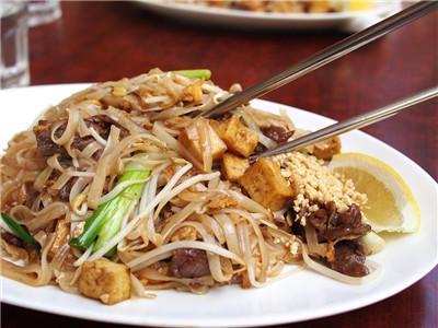 Sample of Thai Local Cuisines