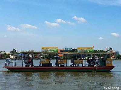 Public Ferry on Chao Phraya River