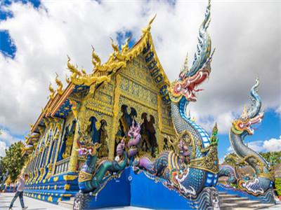 Chiang Mai Blue Temple (Wat Rong Suea Ten)