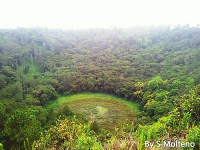 Trou aux Cerfs crater