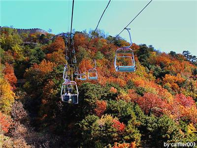 Cable Car in Great Wall