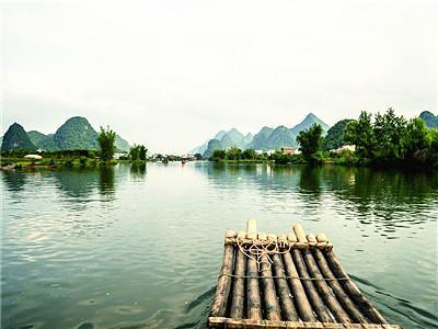 Yulong Bamboo Rafting