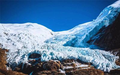 Karo La glacier(Glacier in Shigatse)