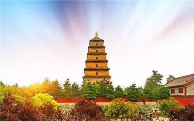 Climb up to The Wild Goose Pagoda
