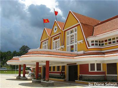 Old Da Lat Railway Station