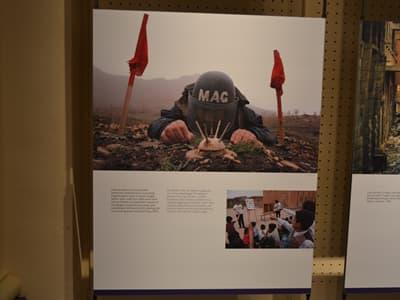 UXO MAG Exhibition Room