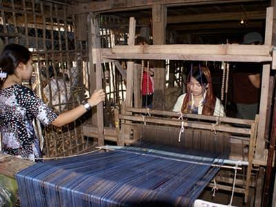 Tai Dam Weaving Village