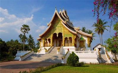 National Museum & Hor Phra Bang